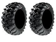 Pair of GBC Grim Reaper Radial (8ply) ATV Tires [26x11-14] (2)