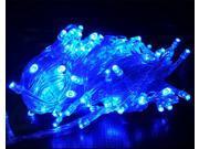 100M 600LED AC110V Christmas Holiday Decoration Strings Fairy lights Rainproof- Blue
