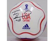 Tim Howard USA Signed Adidas World Cup Capitano Soccer Ball JSA ITP