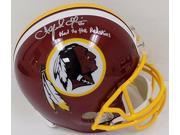 Alfred Morris Signed Redskins Full SZ Helmet Inscr. Hail to the Redskins JSA