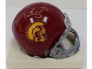 Matt Leinart Autographed USC Trojans Mini Helmet SI