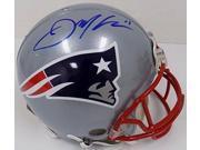 Julian Edelman Signed New England Patriots Full SZ Riddell Proline Helmet JSA