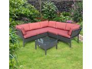 Outsunny 6 pc. Wicker Sectional Collection