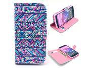 Tribal Carpet Tattoo Pattern PU Leather Full Body Case with Stand and Card Holder for LG Nexus 5 with Screen Protector