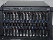 IBM BLADECENTER E 8677-4SU 14x HS22 7870-AC1 2x L5520 CPUS 48GB MEM 2x 146GB 15K