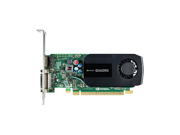 NVIDIA® Quadro® K600 1GB GDDR3 PCI Express 2.0 x16 Low Profile Ready Workstation Video Card - Item Includes Standard Height Bracket only