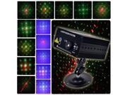SUNY 3 Lens RG Laser BLUE LED Stage Lighting DJ Home Party 300mw show Club Light