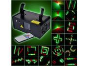 Hot 3D Mini Laser Stage Light R&G&Y Music Control Projector with Remote Control