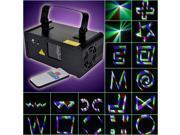 Mini DMX512  Disco Laser Stage DJ Lighting Show Party Lights +Remote Control