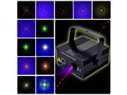 Voice-activated Laser BLUE LED Stage Lighting DJ LED Party Disco Club Light