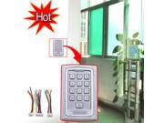 Waterproof RFID Entry Metal Door Lock Button Access Control System + 10 ID Cards Key