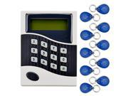 New Networking RFID Entry Door Lock Access Control System + 10 ID Cards Key