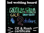 IMAGE® hardened digital remote Flashing Illuminated Erasable Neon led Message writing board Menu Sign for advertising 30 40