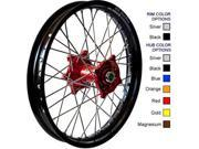 Talon MX Front Wheel Set with DirtStar Rim - 1.60x21 - Red/Black Offroad Red  56-4000RB 56-4000RB