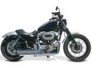 Samson Legend Series Exhaust System - Street Sweepers - Chrome American VTwin Chrome  XL4-959 XL4-959