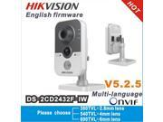 Hikvision DS-2CD2432F-IW 3MP w/POE IP network camera Built-in microphone DWDR & 3D DNR & BLC Wi-Fi DS-2CD2432F-I (w)