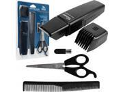 Journey's Edge Hair & Beard Trimmer with Accessory Set