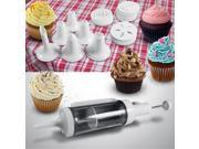 31 Piece Cake Decorating Kit with 6 Decorating Icing Nozzles