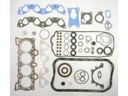 88-91 Honda CRX DX D15B1/D15B2/D15B7/D15B8 1.5L 1493cc/D16A6 1.5L 1590cc L4 16V SOHC Engine Full Gasket Replacement Kit Set FelPro: HS9123PT/CS9123