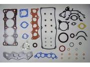 90-94 Mazda 323 B6 1.6L 1597cc L4 8V SOHC Engine Full Gasket Replacement Kit Set FelPro: HS9696B/CS9691