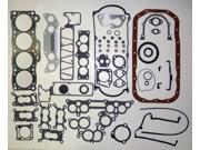 87-93 Mazda B2000 F2L 2.2L 2184cc L4 8V SOHC Engine Full Gasket Replacement Kit Set FelPro: HS9572PT-1/CS9513