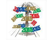 2015 Assorted Color Mini Cascade Centerpiece