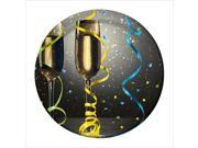 New Year Pop 7 Inch Lunch Plates