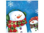 Frosty Wonderland Beverage Napkins 2 Ply