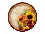 Floral Inspiration 7 Inch Lunch Plates 96 Ct