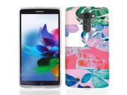 For LG G Vista VS880 Hawaii Leaves Case Cover