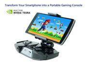 Viaplay Smart Portable Gamepad, Mobile Bluetooth Gaming Controller, Via-Gamepad F2 for Android Smartphone, Tablet, iPhone iPad (iCade mode only), Samsung Galaxy phones - Black