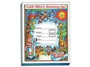 Seca 102 Grow Minder Pad for Recording Child Growth Info-5 Pads/Pack