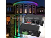 high power led lamps constant current 350Ma/CH*3 channels DMX512 LED Decoder DC12-48V rgb lighting dmx decoder