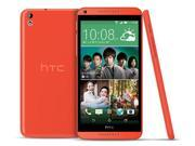 "HTC Desire 816 Dual SIM Orange 8GB Factory UNLOCKED Phone 5.5"" 13MP Smartphone"