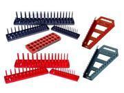 Hansen 9pc Socket Wrench Organizer Tray Rack Set Metric SAE USA