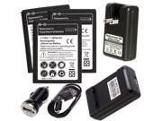 US Dock Charger for SamSung Galaxy Note i9220 N7000 LTE i717 + 3x 2800mAh Battery (Us Shipping)