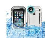 BESDATA IP8X Real Waterproof Box Case with Camera Hole For iPhone 5 5C 5S - Taking Photos Underwater Up To 40 Meters 133Ft Blue