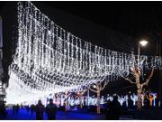 New Hot Sale 110V  20M 200 LED String Lights Fairy  Christmas Wedding Party Xmas Light Outdoor White US Plug