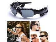 New super cool Black Headset Sunglasses Sun Glasses WMA Sports MP3 Player 2GB