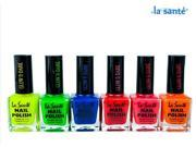 6-Pack: La Sante Nail Polish - Glow in the Dark