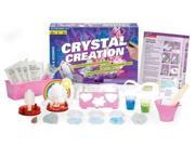 Thames & Kosmos 643614 Crystal Creation Science Experiment Kit with Coloring Book