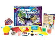 Thames & Kosmos 620714 Science or Magic? Science Expirement Kit with Coloring Book