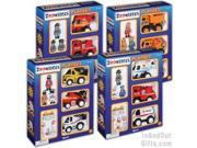 ToySmith Zoomsters Playset 4 Different Styles (EACH STYLE SOLD SEPERATELY SELLER CHOOSES STYLE)