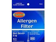 Generic Dirt Devil F19 Allergen Filter