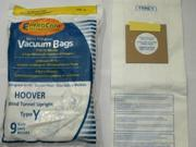Hoover Part#4010100Y - Type Y Vacuum Bag ((45) Bags)