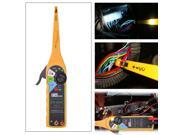 Yellow Auto Circuit Tester Lamp + Probe + Light Diagnostic Tool Multimeter Tester for Any Car without LCD display