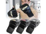 Cool MMA Muay Thai Training Punching Bag Half Mitts Sparring Boxing Gloves Gym