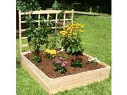 Eden Garden Bed With Trellis