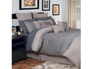 Lavish Home Leah 13 Piece Comforter Set - Queen