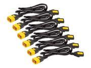 Apc By Schneider Electric Power Cord Kit (6 Ea) Locking C13 To C14 1.2m North America